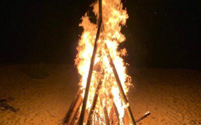 Castara Bonfire